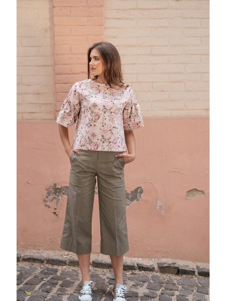 Skrátené rovné nohavice