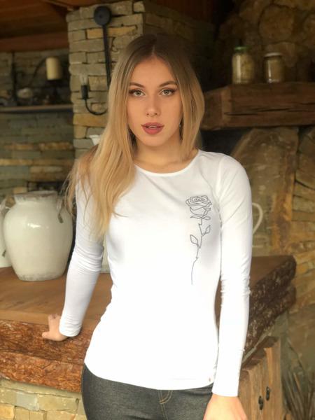 Tričko z organickej bavlny RUŽA