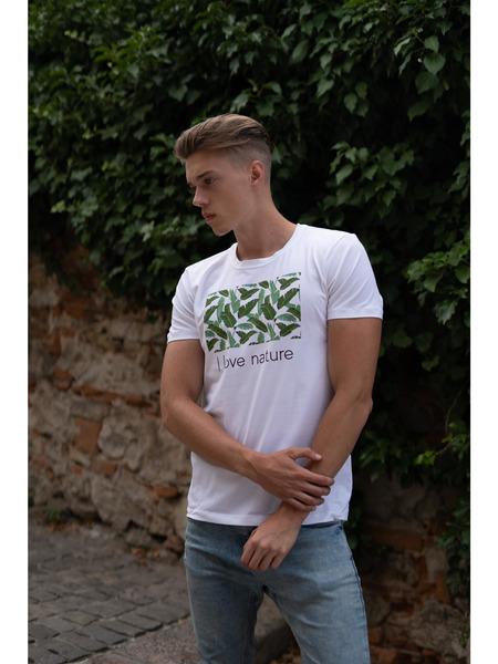 Pánske tričko z organicej bavlny Green Collection 1